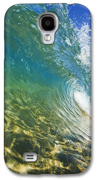 Printscapes - Galaxy S4 Cases - Wave - Makena Galaxy S4 Case by MakenaStockMedia