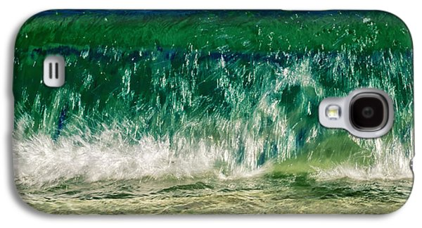 Water Filter Galaxy S4 Cases - Wave Galaxy S4 Case by Stylianos Kleanthous