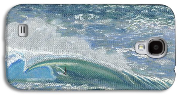 Sports Pastels Galaxy S4 Cases - Waverider Galaxy S4 Case by Patti Bruce - Printscapes