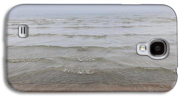 Foggy Ocean Galaxy S4 Cases - Waves in fog Galaxy S4 Case by Elena Elisseeva
