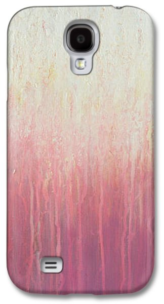 Abstract Landscape Galaxy S4 Cases - Waves of Lights Galaxy S4 Case by Jaison Cianelli