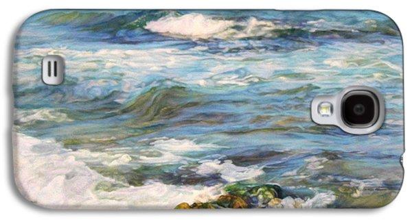 Waving Sea... Galaxy S4 Case by Maya Bukhina