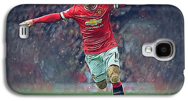 Wayne Rooney Galaxy S4 Case by Semih Yurdabak