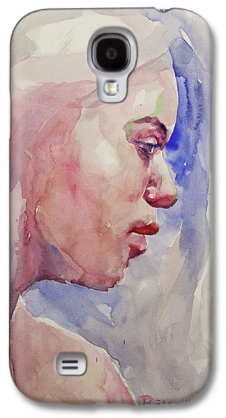 Wc Portrait 1618 Galaxy S4 Case by Becky Kim