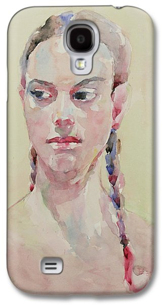 Wc Portrait 1619 Galaxy S4 Case by Becky Kim