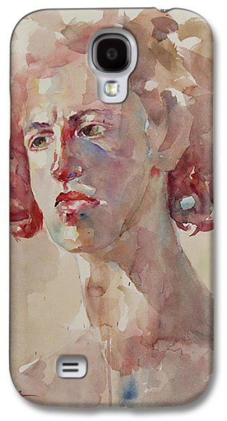 Wc Portrait 1621 Galaxy S4 Case by Becky Kim