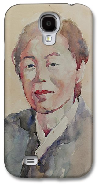 Wc Portrait 1625 My Mama Galaxy S4 Case by Becky Kim