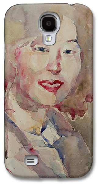 Wc Portrait 1628 My Sister Hyunsook Galaxy S4 Case by Becky Kim