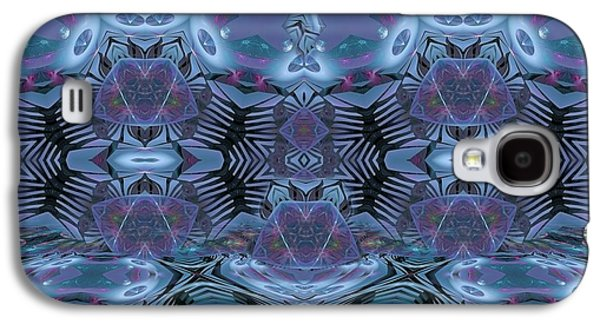Fractal Pastels Galaxy S4 Cases - We Have Our Seasons Galaxy S4 Case by Gayle Odsather