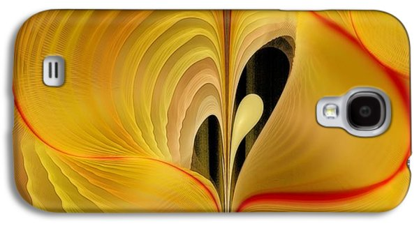 Fractal Pastels Galaxy S4 Cases - We Shall Feel It Within Our Being Galaxy S4 Case by Gayle Odsather