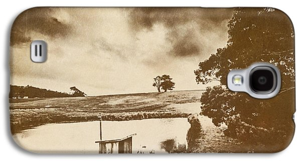 Weathered And Moody Old Farmland Galaxy S4 Case by Jorgo Photography - Wall Art Gallery