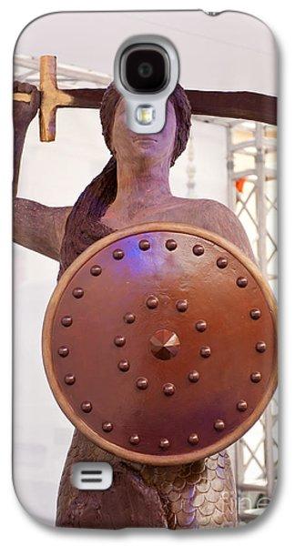 Wedel Chocolate Big Mermaid Portrait Galaxy S4 Case by Arletta Cwalina