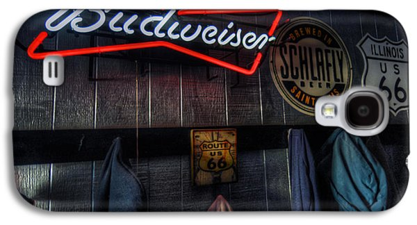 Weezys Route 66 Bar And Grill Galaxy S4 Case by Kevin Schuchmann