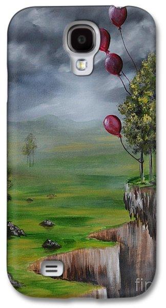 Recently Sold -  - Surreal Landscape Galaxy S4 Cases - Weightless Galaxy S4 Case by Lachri
