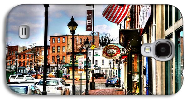 Welcome To Fells Point Galaxy S4 Case by Debbi Granruth
