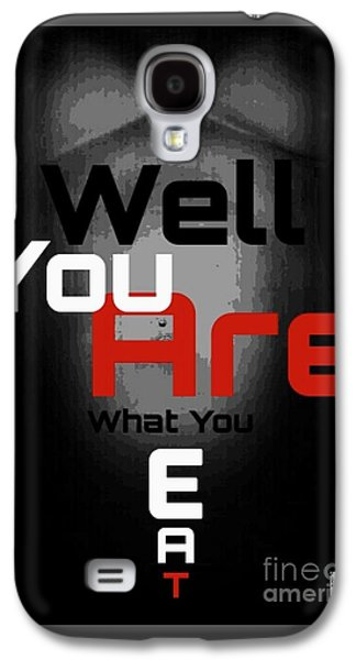 Dolphin Tapestries - Textiles Galaxy S4 Cases - Well You Are.... Galaxy S4 Case by HI Level