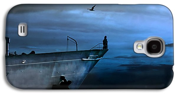 Man Galaxy S4 Cases - West Across The Ocean Galaxy S4 Case by Joachim G Pinkawa