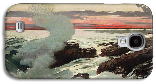 West Point Prouts Neck Galaxy S4 Case by Winslow Homer