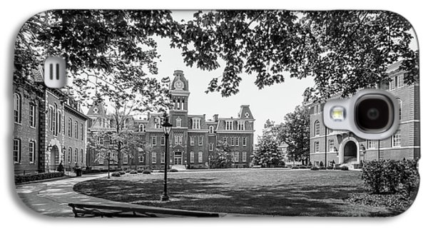 West Virginia University Woodburn Circle Galaxy S4 Case by University Icons