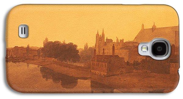 Westminster Abbey  Galaxy S4 Case by Peter de Wint
