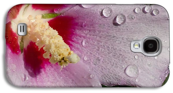Althea Galaxy S4 Cases - Wet Althea Bloom Galaxy S4 Case by Michael Osborn