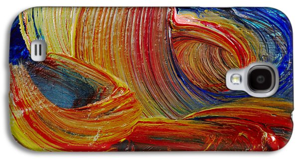 Coasting Galaxy S4 Cases - Wet Paint - Run Colors Galaxy S4 Case by Michal Boubin