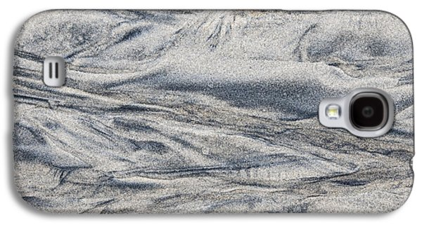Sand Patterns Galaxy S4 Cases - Wet sand abstract I Galaxy S4 Case by Elena Elisseeva