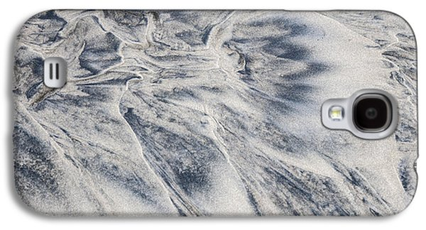 Sand Patterns Galaxy S4 Cases - Wet sand abstract II Galaxy S4 Case by Elena Elisseeva