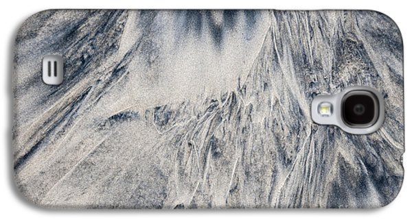 Sand Patterns Galaxy S4 Cases - Wet sand abstract III Galaxy S4 Case by Elena Elisseeva