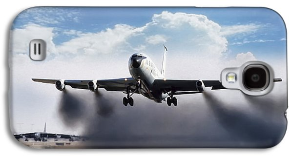 Wet Takeoff Kc-135 Galaxy S4 Case by Peter Chilelli