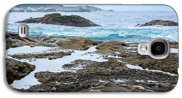 Whalers Cove Galaxy S4 Cases - Whalers Cove Point Lobos Galaxy S4 Case by Cristi Canepa