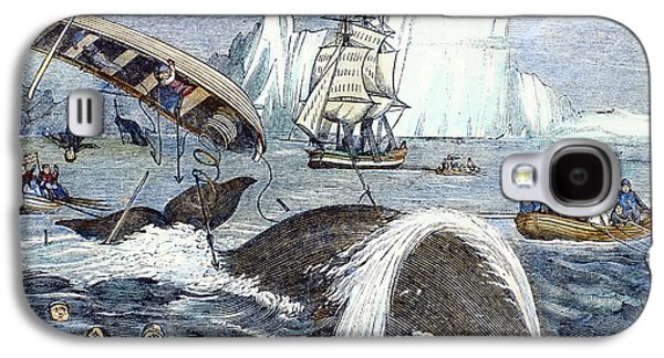 1833 Galaxy S4 Cases - Whaling, 1833 Galaxy S4 Case by Granger