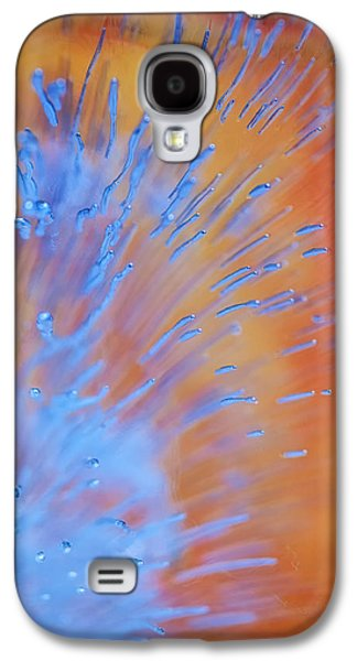 Nature Abstract Pyrography Galaxy S4 Cases - What Ever Galaxy S4 Case by Artist Jacquemo