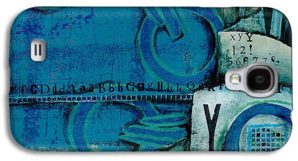 Light And Dark Galaxy S4 Cases - What Language is that?  Galaxy S4 Case by Laura  Lein-Svencner