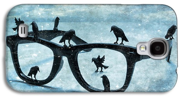 What The Crows Found Galaxy S4 Case by Jeff  Gettis