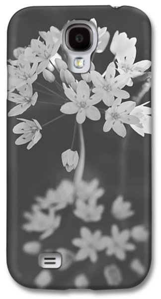 Monotone Galaxy S4 Cases - What the Heart Wants Galaxy S4 Case by Laurie Search