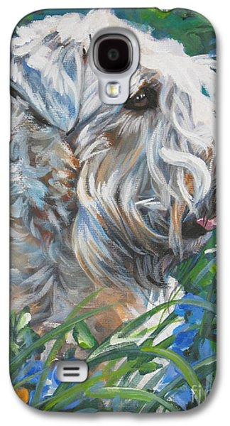 Wheaten Terrier Galaxy S4 Case by Lee Ann Shepard