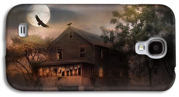 Creepy Galaxy S4 Cases - When Dead Leaves Fly Galaxy S4 Case by Lori Deiter