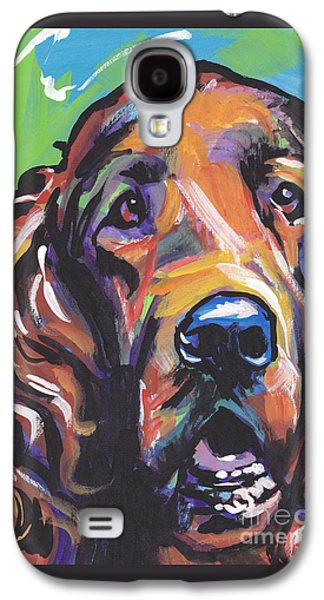 Puppies Galaxy S4 Cases - When Irish Eyes Are Smiling Galaxy S4 Case by Lea