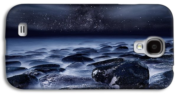 Beach Landscape Galaxy S4 Cases - Where Silence is Perpetual Galaxy S4 Case by Jorge Maia