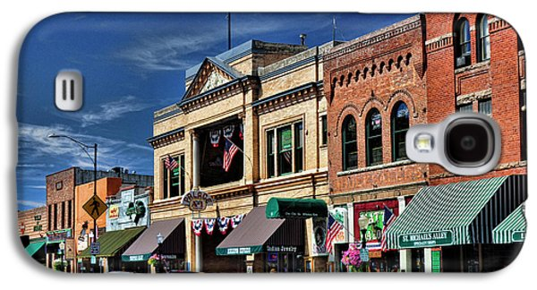 Prescott Photographs Galaxy S4 Cases - Whiskey Row - Prescott  Galaxy S4 Case by Saija  Lehtonen