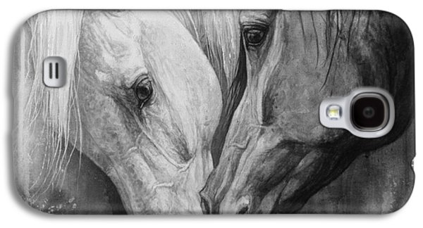 Horse Images Galaxy S4 Cases - Whisper Galaxy S4 Case by Silvana Gabudean