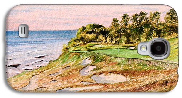 Whistling Straits Golf Course 17th Hole Galaxy S4 Case by Bill Holkham