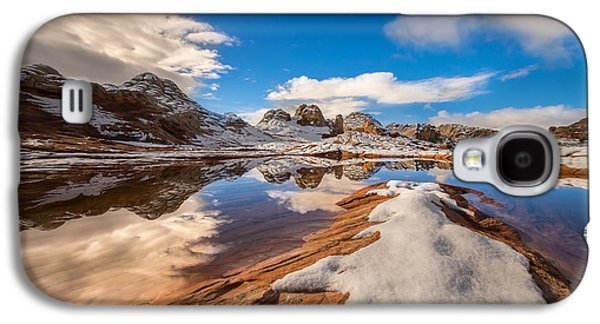 Ocean. Reflection Galaxy S4 Cases - White Pocket Northern Arizona Galaxy S4 Case by Larry Marshall