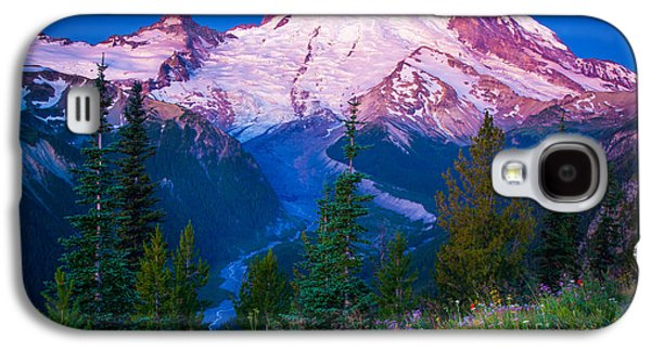 White River Galaxy S4 Cases - White River Predawn Galaxy S4 Case by Inge Johnsson