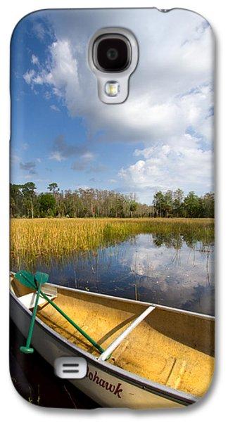 Beach Landscape Galaxy S4 Cases - White Tower Galaxy S4 Case by Debra and Dave Vanderlaan