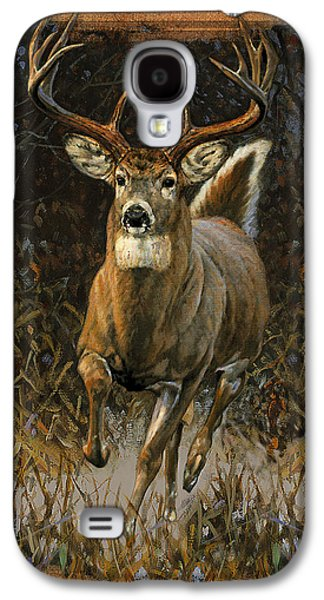 Deer Galaxy S4 Cases - Whitetail Deer Galaxy S4 Case by JQ Licensing