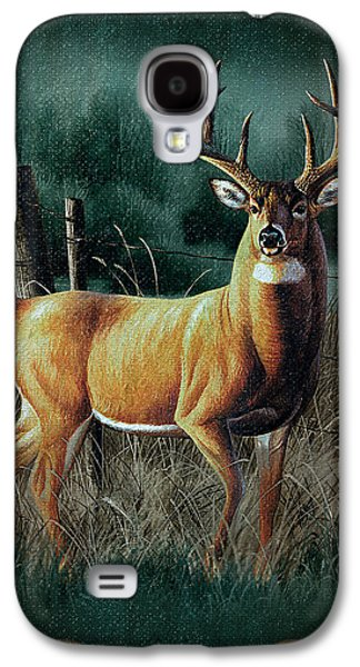Cynthie Fisher Galaxy S4 Cases - Whitetail Deer Galaxy S4 Case by JQ Licensing
