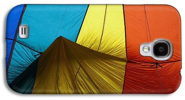 Hot Air Balloon Galaxy S4 Cases - Who landed this balloon on me Galaxy S4 Case by Mike  Dawson