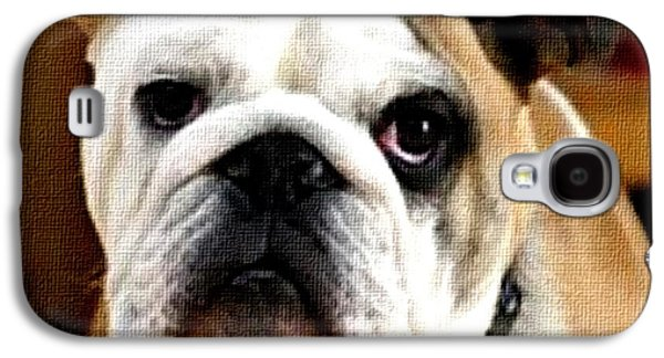 Abstract Digital Pastels Galaxy S4 Cases - Why do they call me Winston? H b Galaxy S4 Case by Gert J Rheeders